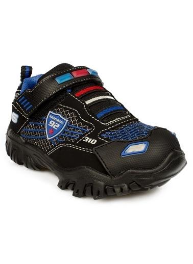 Skechers Damager Iii - Lil Patroller Küçük Erkek Çocuk Siyah Sneakers 400020N BKRB Siyah